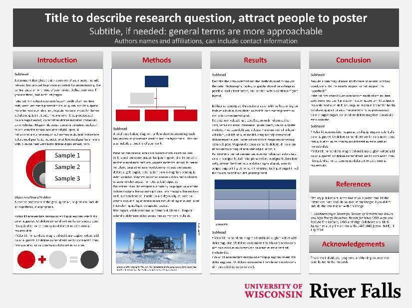 Templates | University of Wisconsin River Falls