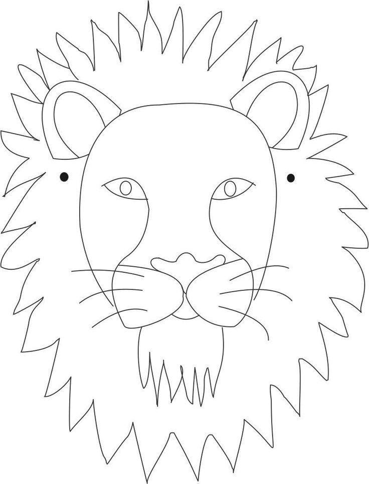 Best 25+ Animal face mask ideas on Pinterest | Animal masks, Paper ...