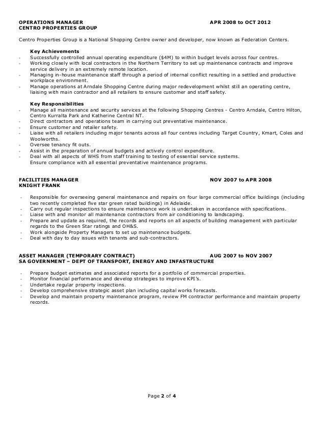 Philip Worrall Resume - 2015