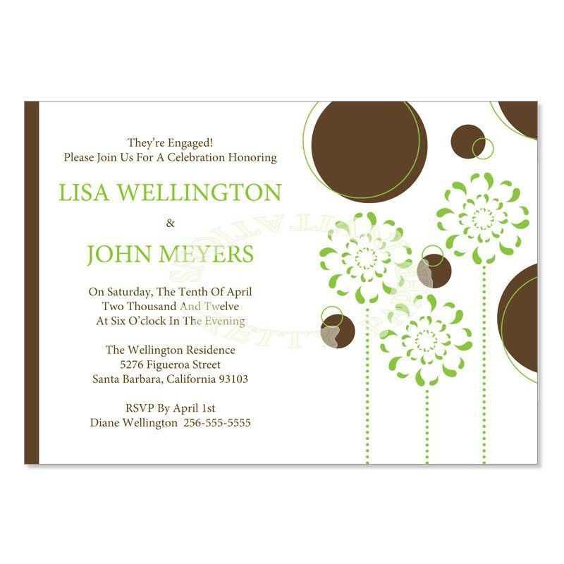 Do it Yourself Engagement Party Invitations | DIY Printable ...