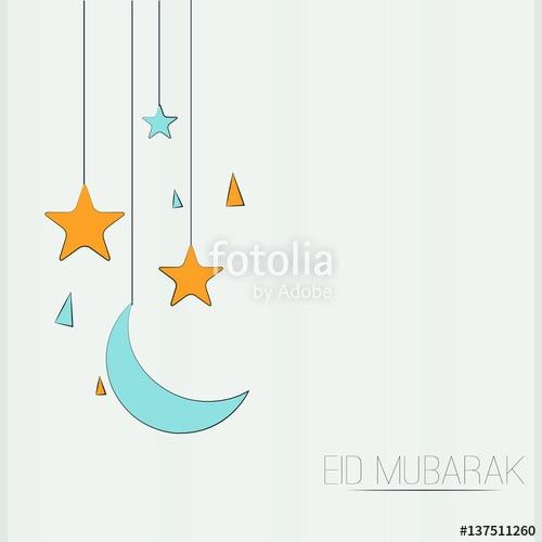 creative vector template or background for Eid Mubarak, Ramadan ...