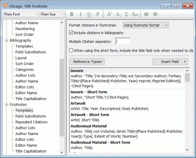 Solved: Incorrect footnote citations from EndNote X7 to Wo ...