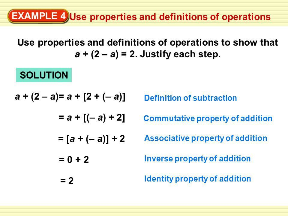 Section 1.1 Properties of Real Numbers. EXAMPLE 1 Graph real ...