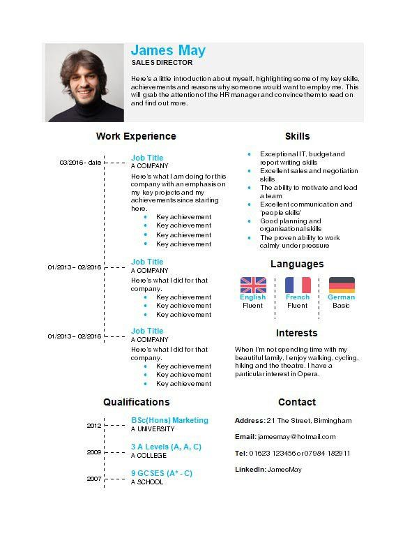 Resume Templates Microsoft Word 2010. Resume Template Word 2010 ...
