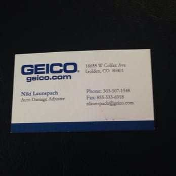 Niki Launspach-Geico Auto Damage Adjuster - Auto Repair - 16655 W ...