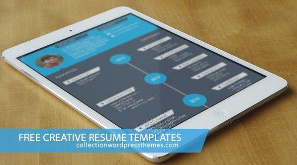 15 Free creative resume templates -