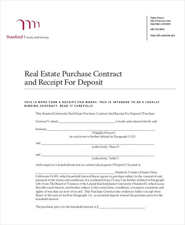 Down Payment Receipt Template [Template.billybullock.us ]