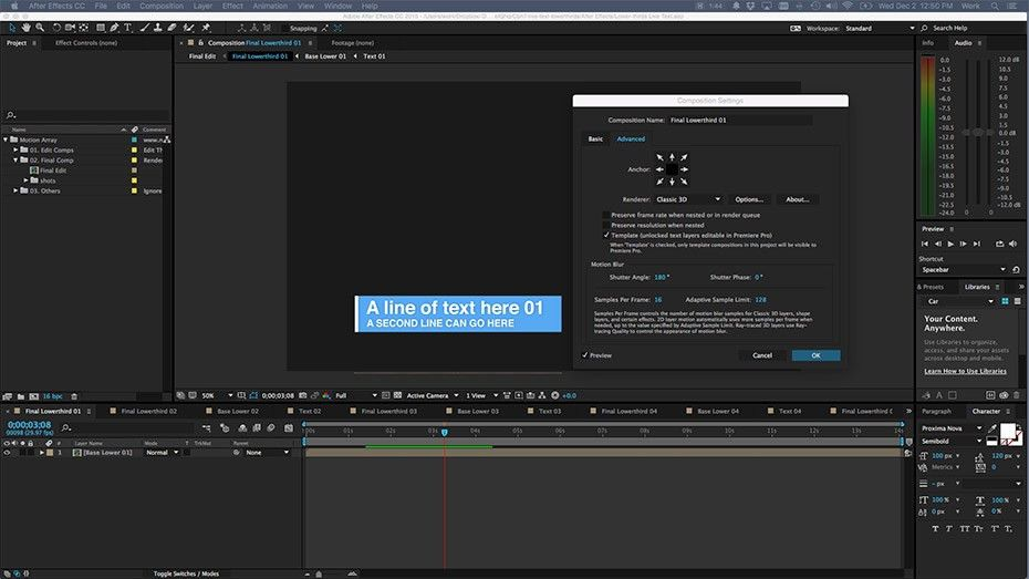 Learn How To Use Live Text Templates In Adobe Premiere Pro ...