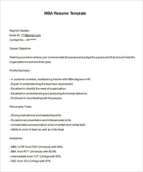 Download A Resume Template. Resume Format Doc File Download Resume ...