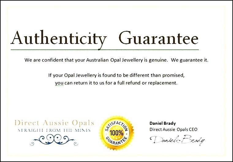 Certificate Of Authenticity Template. Free Certificate Of ...