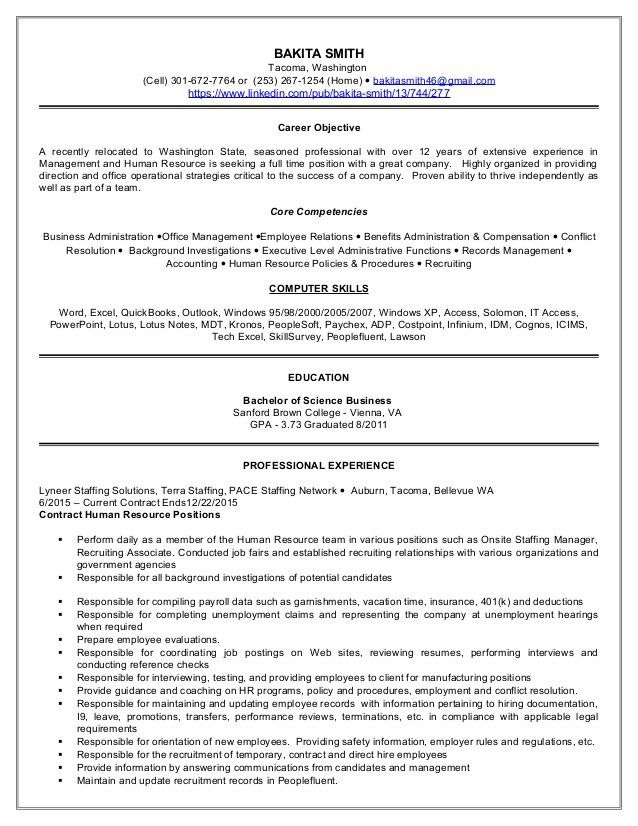 Vfx Project Manager Resume. Template Sample Form Human Resources ...
