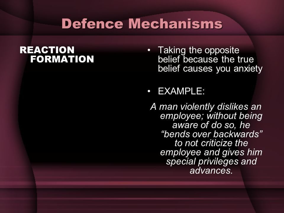 Defence Mechanisms a way to protect our ego. - ppt video online ...