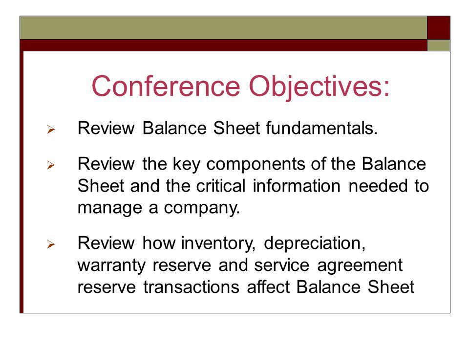 Welcome to Financial Series #2 The Balance Sheet - ppt video ...