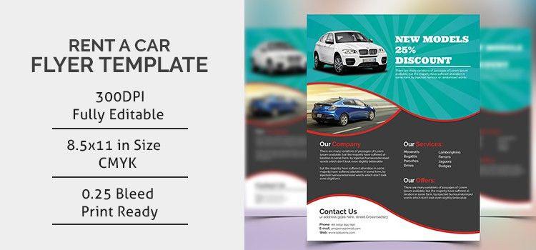 Rent A Car Flyer - Dev Items LLC