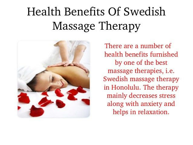 Honolulu Swedish Massage Therapy