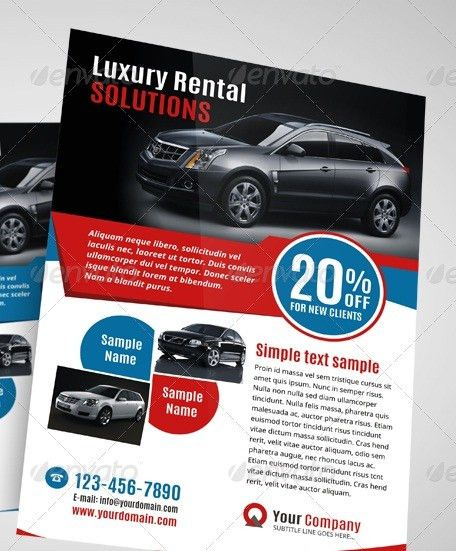 20 Cool Automotive Flyer Templates