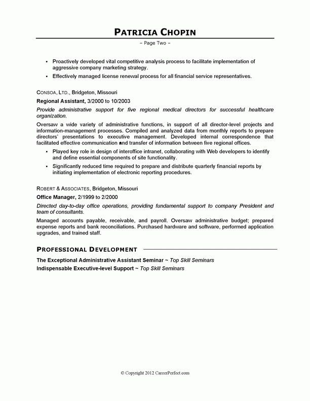Job Objective For Administrative Assistant | Template Design