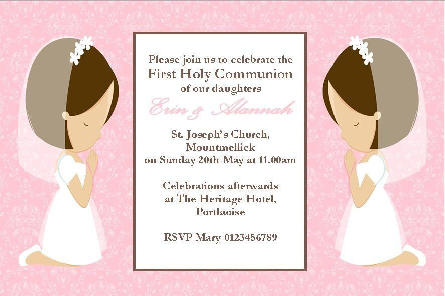 First Communion Invites | christmanista.com