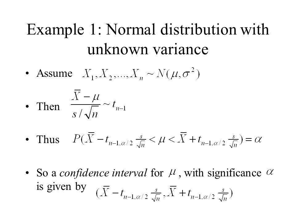 Confidence intervals and hypothesis testing Petter Mostad ppt download
