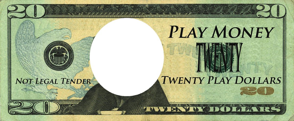 play money template microsoft word