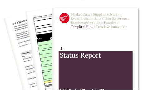 Status Report - Web Project Template Files | Econsultancy