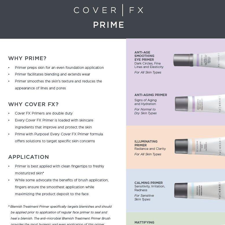 Calming Primer - COVER FX   Sephora
