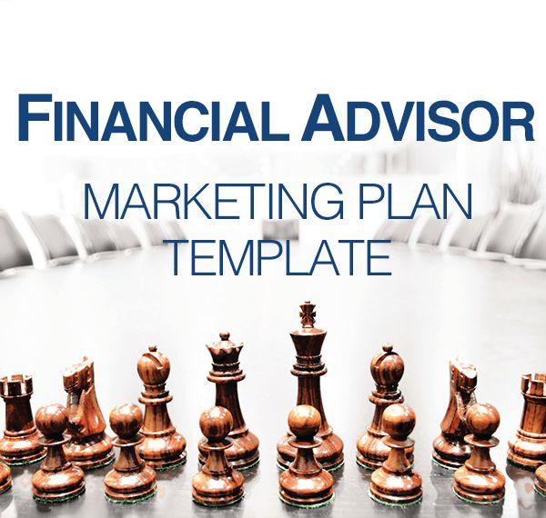 Financial Advisor Marketing Plan Template - Kirk Lowe