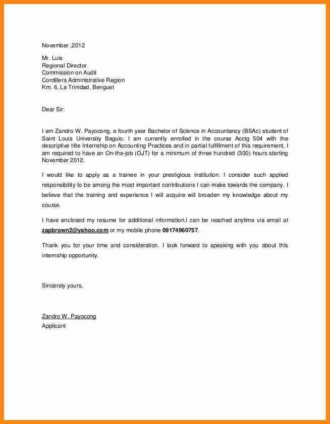 Graduate management trainee cover letter