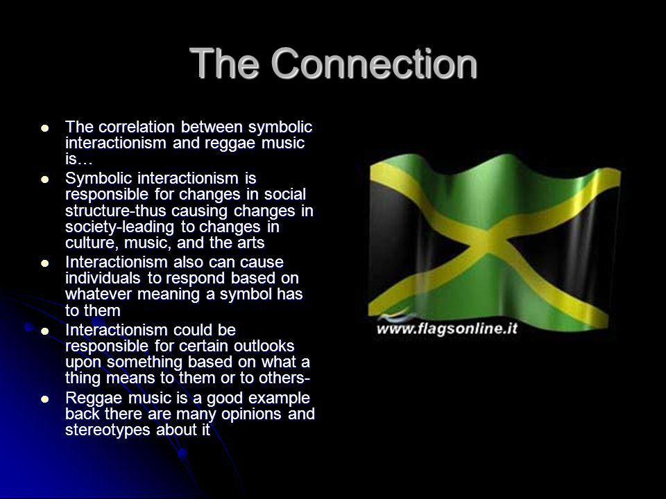 Symbolic Interactionism and Reggae Music - ppt download