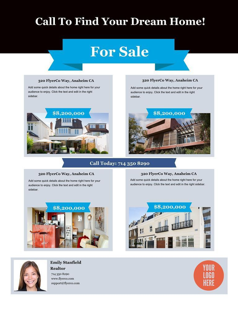 Real Estate Listing Flyers - Real Estate Marketing Blog