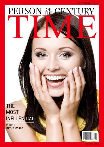 Person of the Century Time Magazine Cover Template | FotoJet