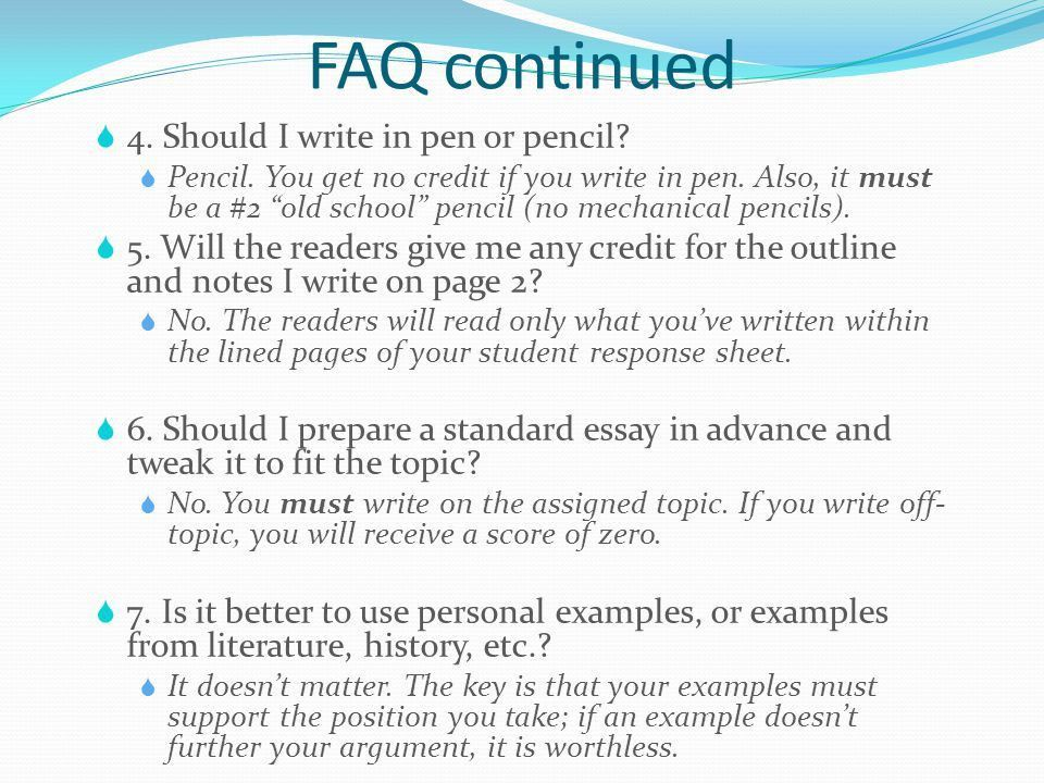 Preparing for the SAT Writing Section - ppt download