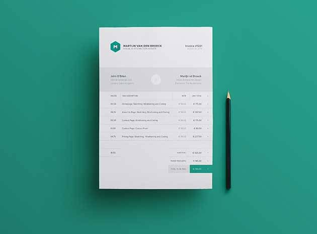 50+ Free Invoice Templates PSD, INDD, & EXCEL Formats Download