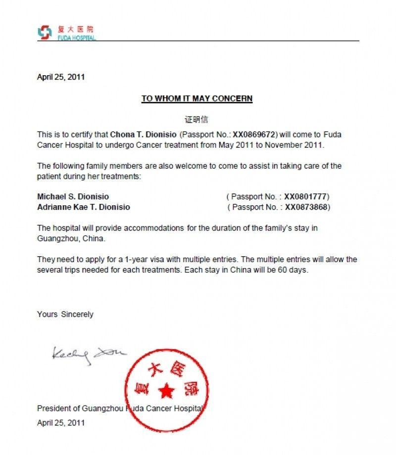 Business Visa Invitation Letter Template Ctsfashion Letter Of ...