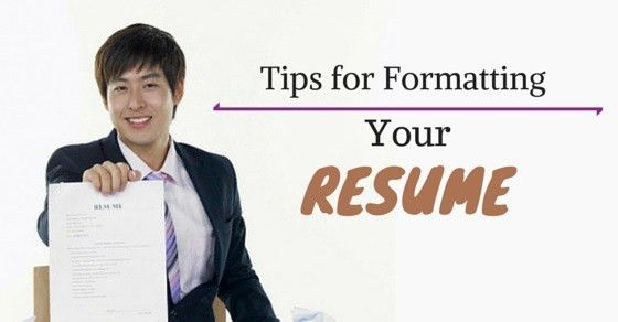 Top 25 Must Follow Resume Formatting Tips and Guidelines - WiseStep