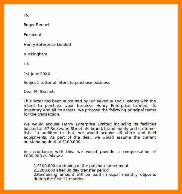 11+ business letter of intent | beverage-carts