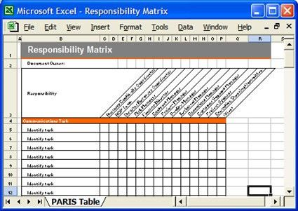 Responsibility Matrix for Business Continuity Plan Templat… | Flickr