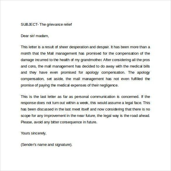 Inter Office Communication Letter | Samples.csat.co