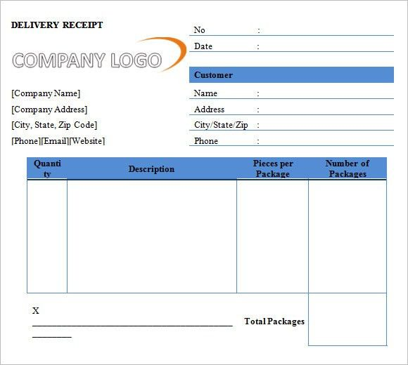 10+ Printable Receipt Templates – Free Samples, Examples, Format