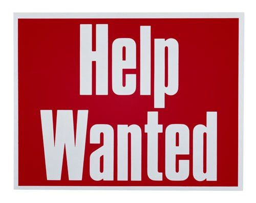Help Wanted Signs Printable images