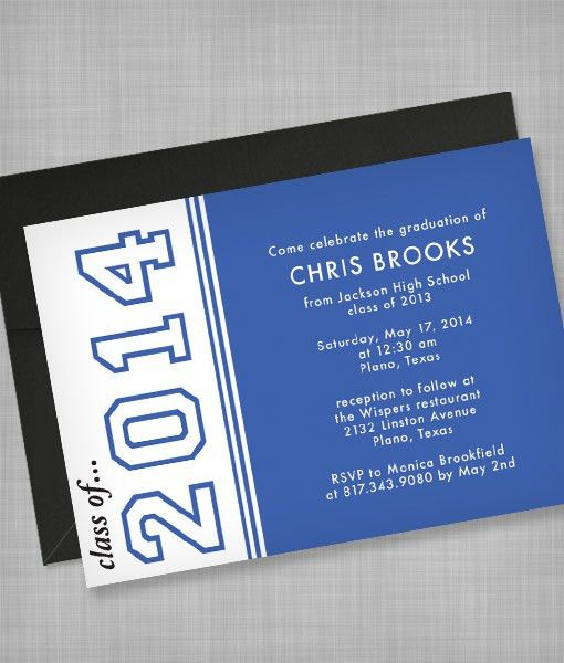 High School Graduation Invitation Template – Download & Print