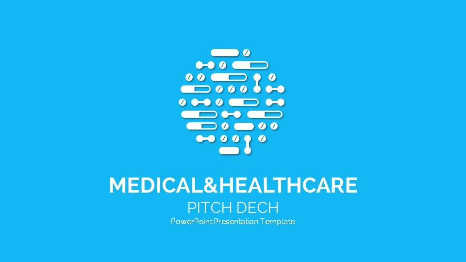 Medical and Healthcare Pitch Deck Template 4Startups by SanaNik ...