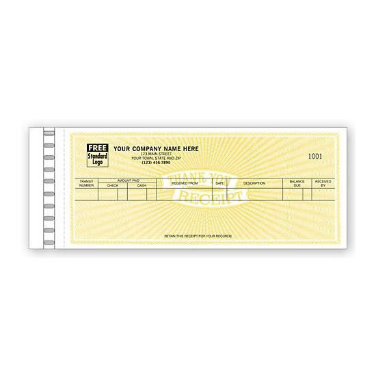 Cash Receipt Book Customized & Printed | DesignsnPrint