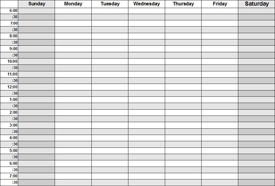 Weekly Agenda. Weekly Planner Printable Pdf Letter Size Weekly ...