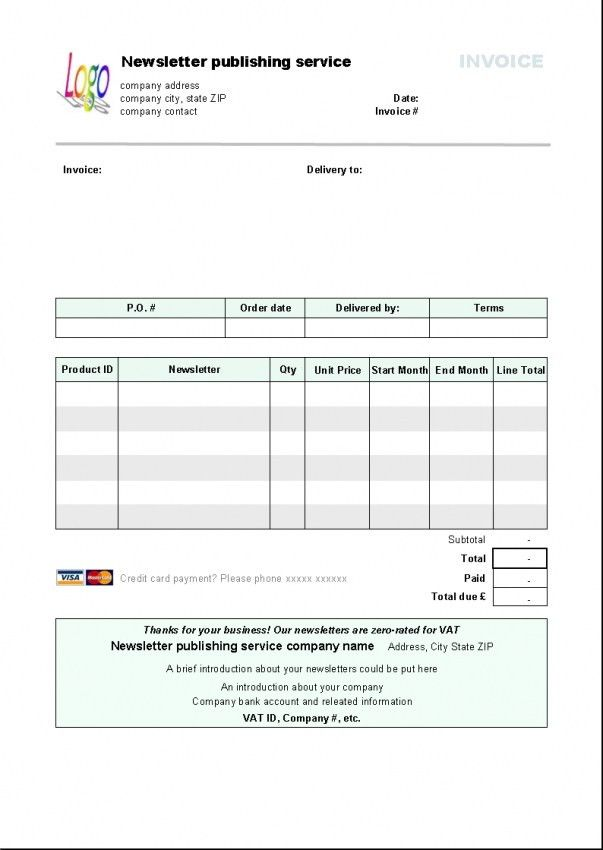 Download Libreoffice Invoice Template | rabitah.net