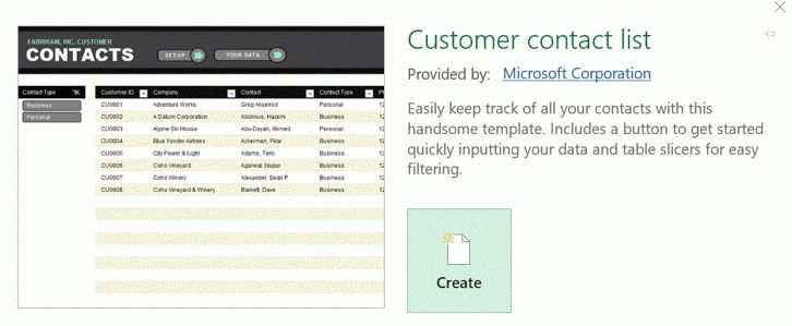 Top 10 Microsoft Excel Templates  Contact List Excel Template