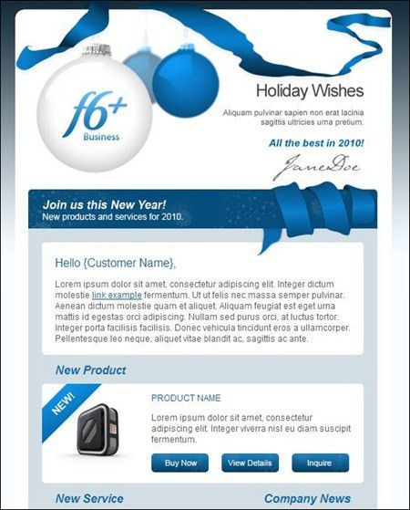 24 Cheerful Christmas Newsletter Templates - Creative CanCreative Can