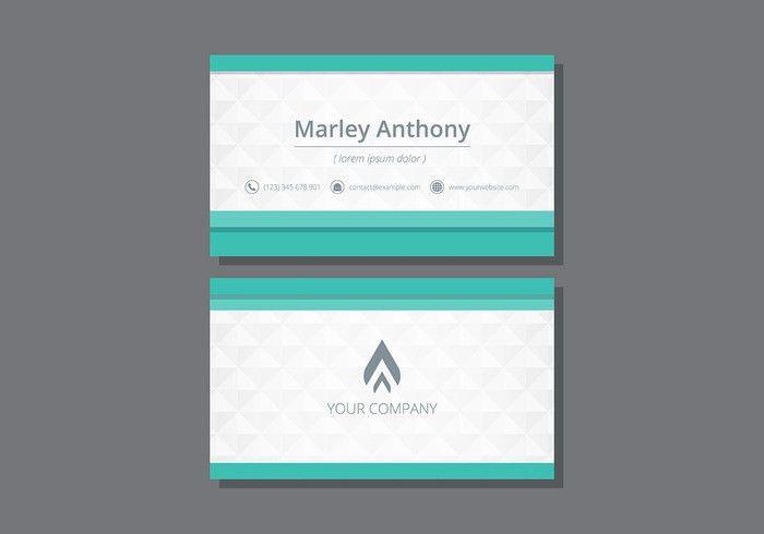 Tarjetas. Name Card Template - Download Free Vector Art, Stock ...