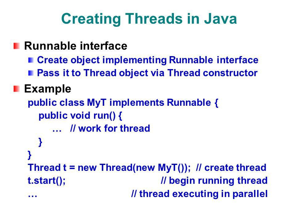 Multithreading in Java Nelson Padua-Perez Bill Pugh Department of ...