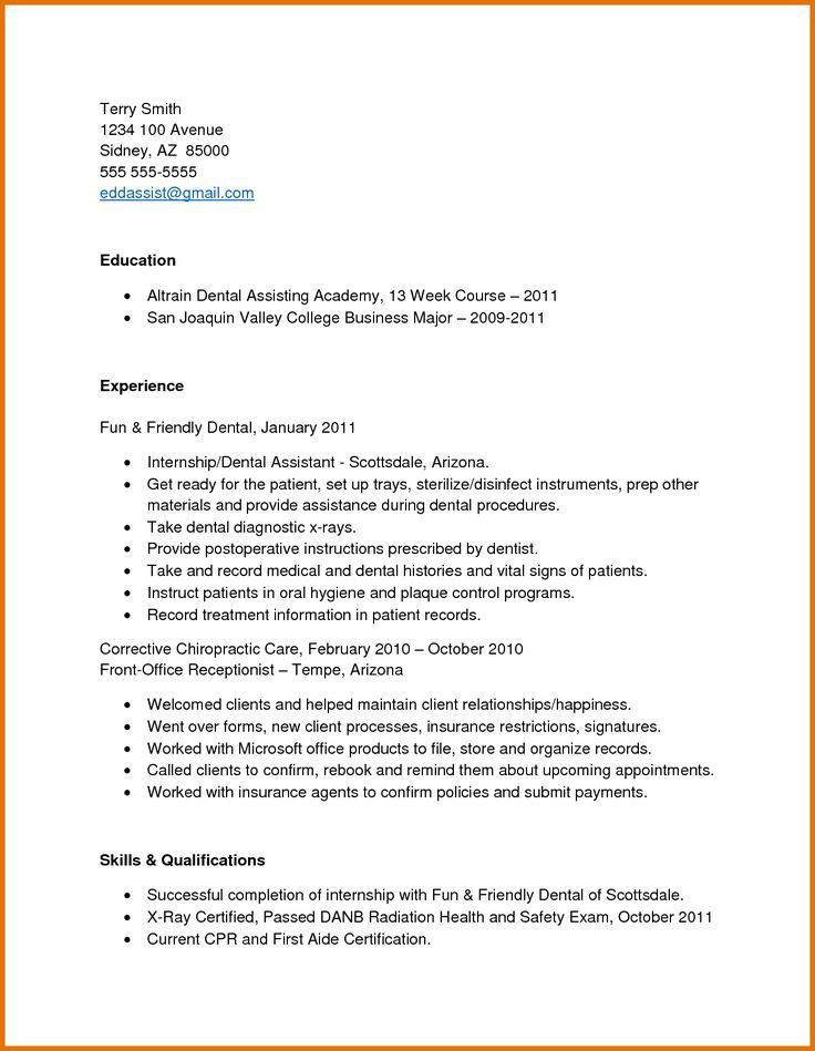 Dental Technician Resume Samples - Ecordura.com